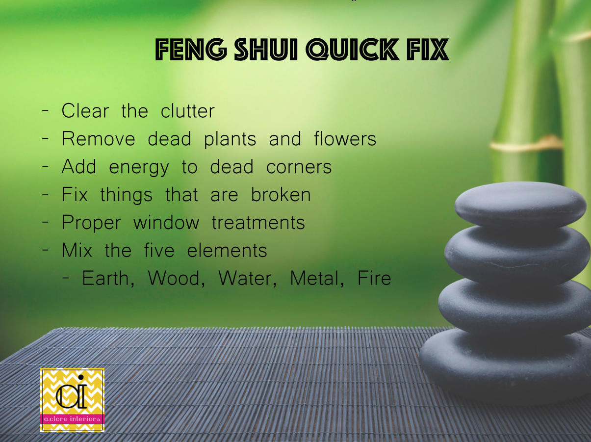 feng shui point