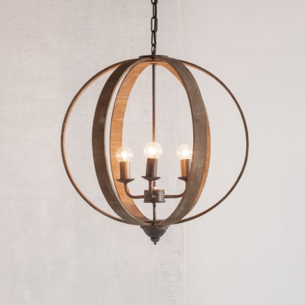 Aknoul Wood Chandelier