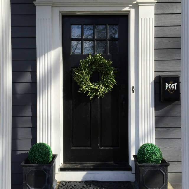 10 colors to paint your front door in 2016 a clore interiors Dark green front door paint