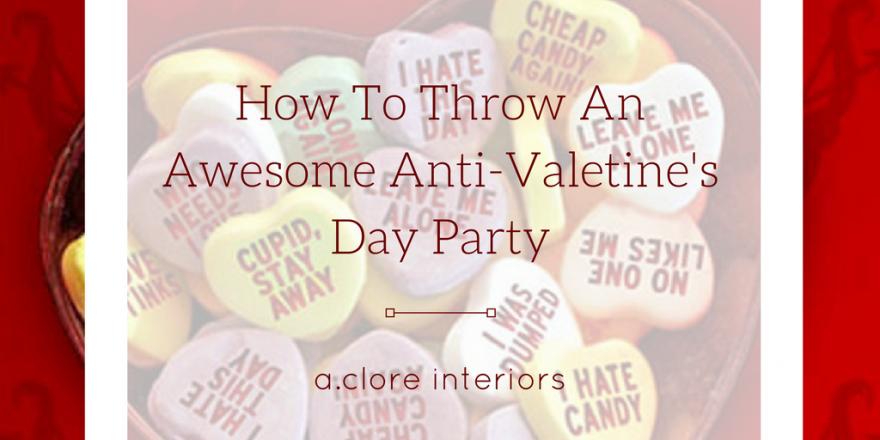 Anti Valentine S Day Decor Archives A Clore Interiors
