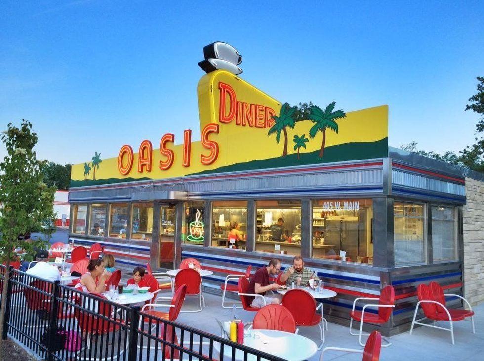 oasis diner retro