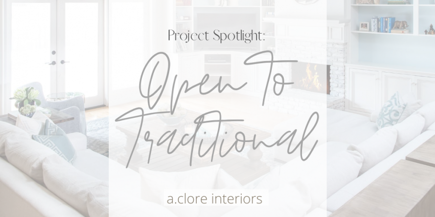 Interior design blog transitional design
