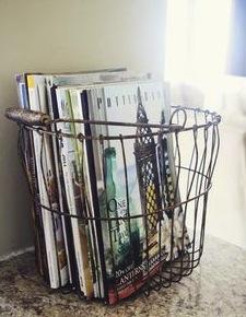 Basket Of Magazines