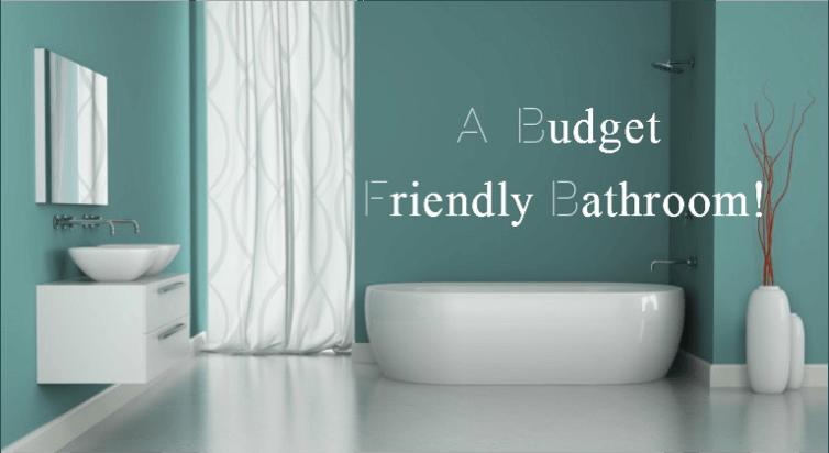 budget friendly bathroom