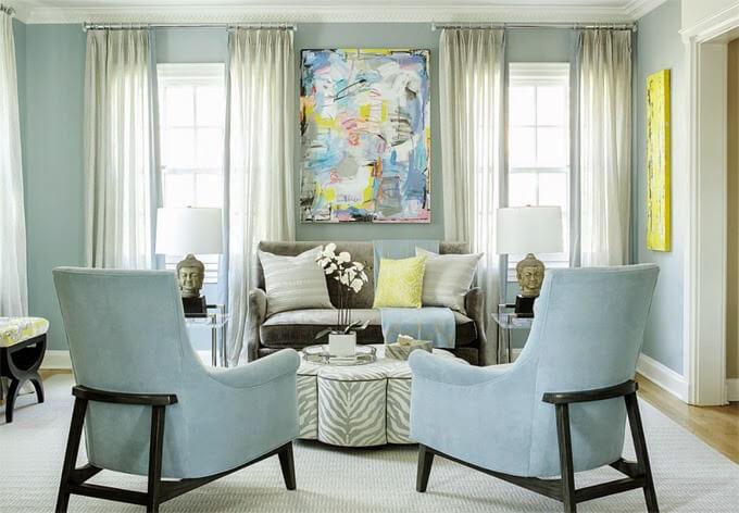 Karen B Wolf living room