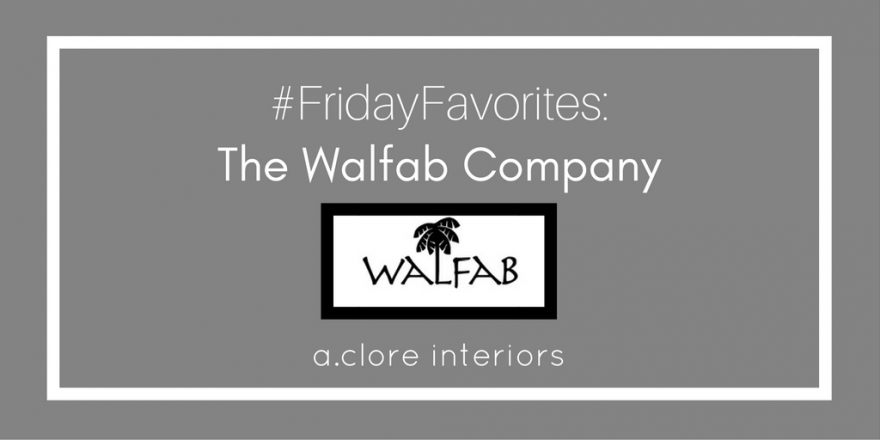 #FridayFavorites: The Walfab Company – Outdoor Fabrics