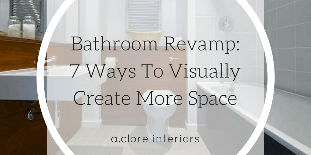 bathroom rev 7 ways to visually create more space a 21340 | bathroom rev 7 ways to visually create more space
