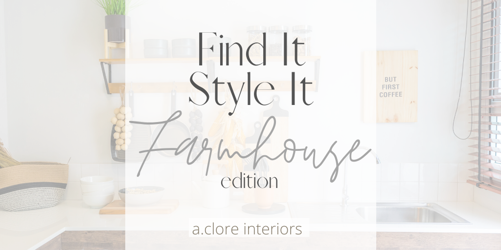farmhouse decor and furniture